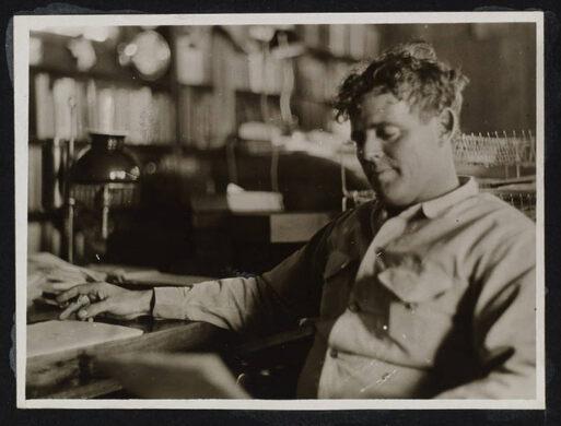 Jack at a desk.