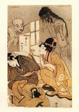 Kitagawa Utamaro, One Hundred Stories of Demons and Spirits