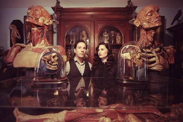 Our hosts, Ryan Matthew Cohn & his wife Regina