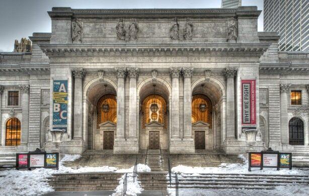 N.Y. Public Library - Schwarzman Bldg. - exterior