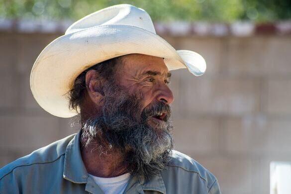 Lou Royce, owner of Quail Run Ostrich Ranch