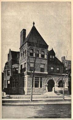 Adolphus Clay Bartlett home at 2720 Prairie Avenue
