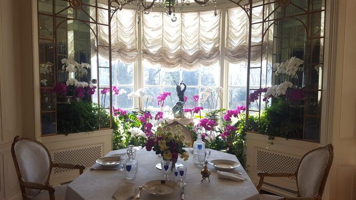 Hillwood Mansion Breakfast Nook
