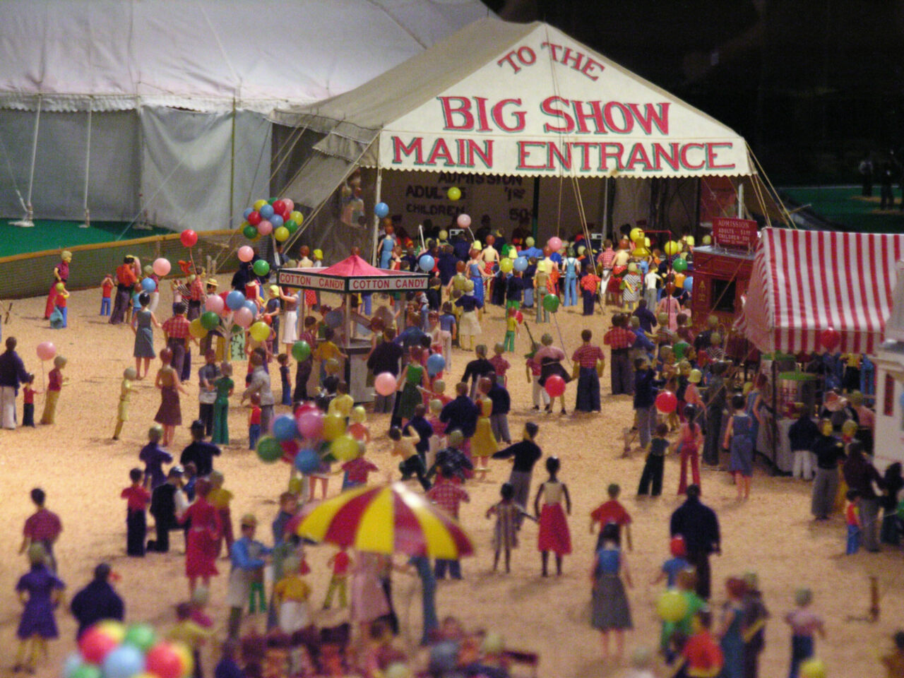 The Big Show Main Entrance Ringling miniature.