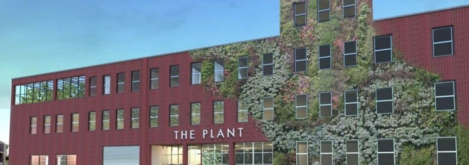 Artist's rendering of The Plant