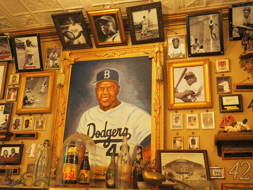 Brooklyn Dodgers Reliquary
