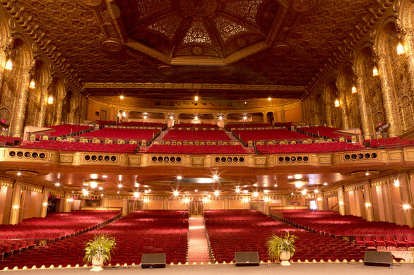Behind The Curtain Of The United Palace Theatre Atlas