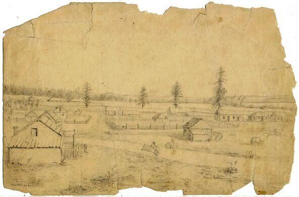 Gibbs Sketch, 1850s
