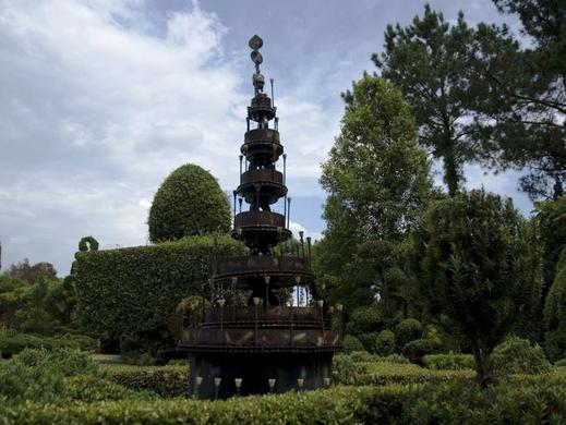 A fountain built by Fryar.