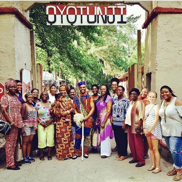 Oshun Festival At Oyotunji African Village Atlas Obscura