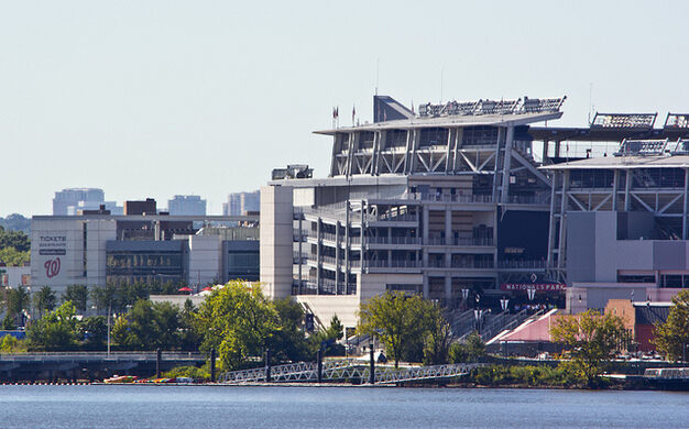 Nationals Park on the Anacostia River