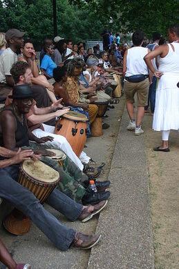 Sunday Drum Circle