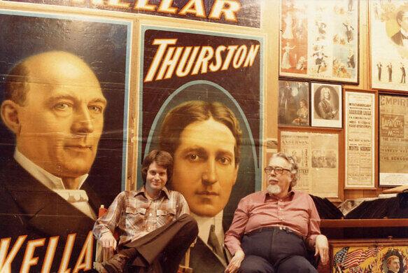 MIke Caveney and David Price - 1980