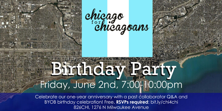 Chicago For Chicagoans Birthday Party