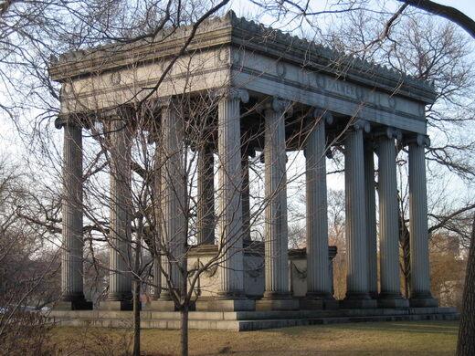 The Palmer Mausoleum.