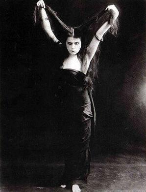 "The silent film ""Sin"""