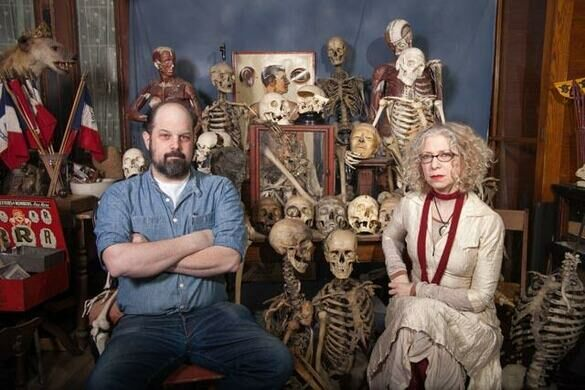 Mike Zohn & Evan Michelson of Obscura Antiques & Oddities