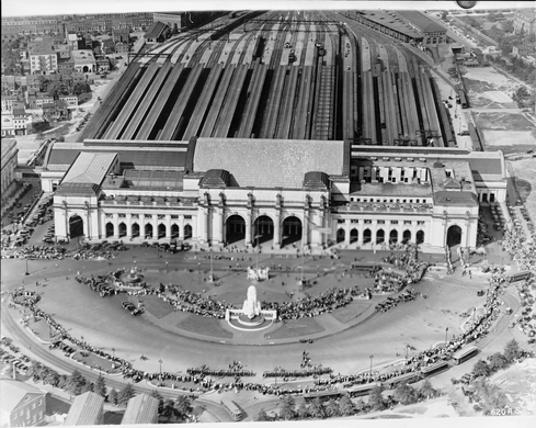 Union Station in the early 20th century
