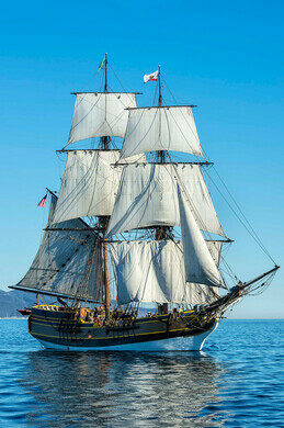 Monsters and Music aboard Lady Washington