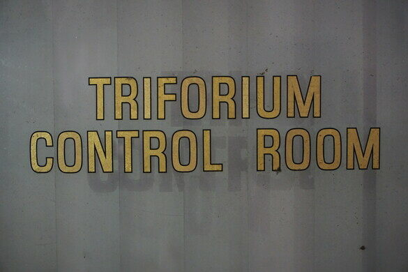 Control Room, closed to public