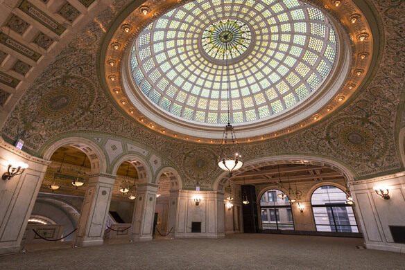Chicago Cultural Center.