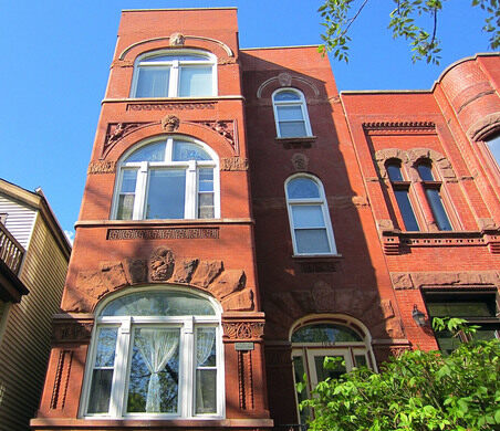 Famous authors have lived in homes like these in Wicker Park