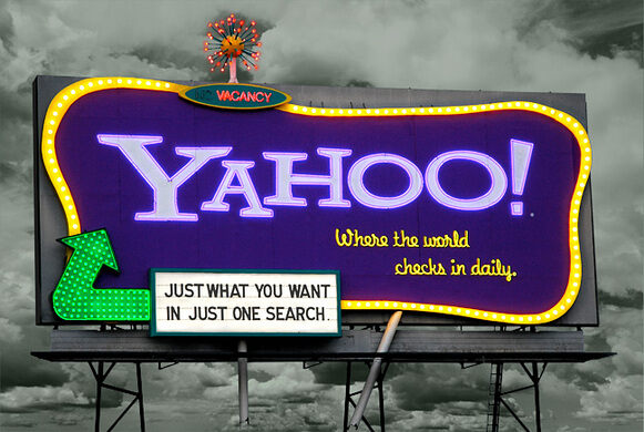 Yahoo! billboard, San Francisco