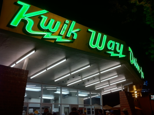 Kwik Way Drive-In, Oakland