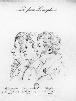 Louis XVII Imposters