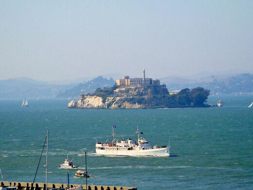 USS Potomac and Alcatraz
