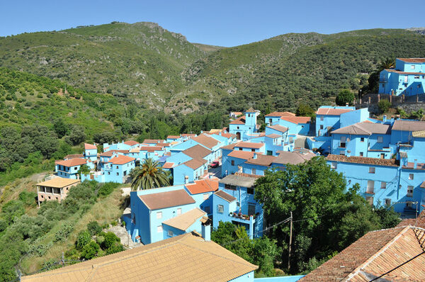 spains bright blue smurf village is being forced to de