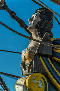 Figurehead of the Lady Washington