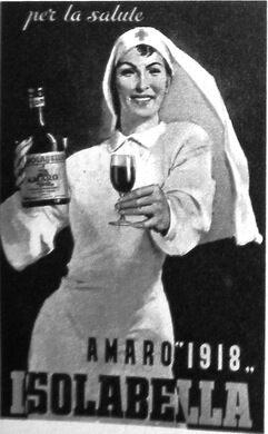 Vintage Italian Amaro Advertisement