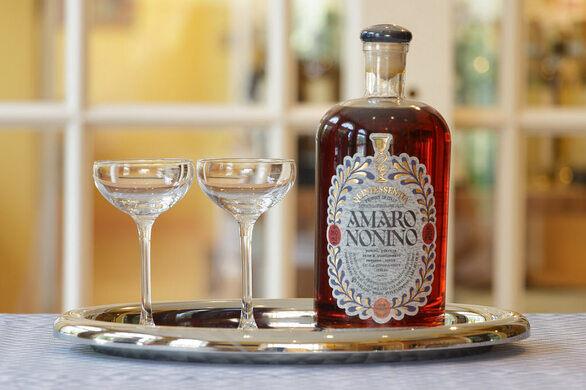 Amaro and Schott Zwisel Glassware