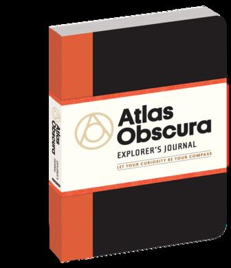 The Atlas Obscura Explorer's Journal.