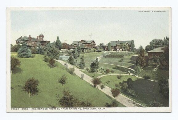 Busch Residences, Sunken Gardens, Pasadena