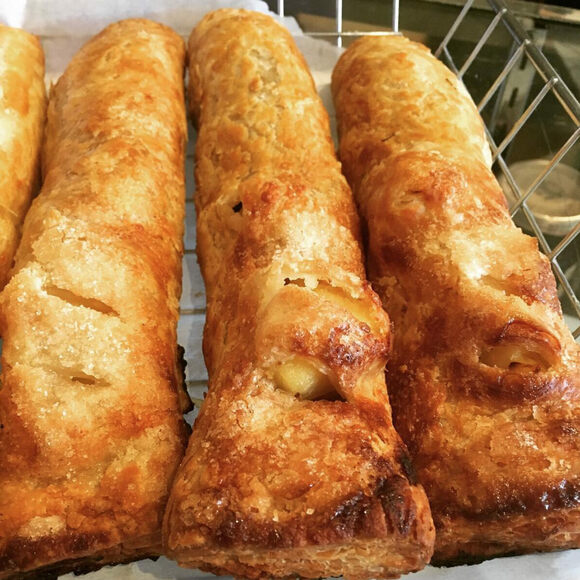 Bedfordshire clangers are dinner and dessert in one.