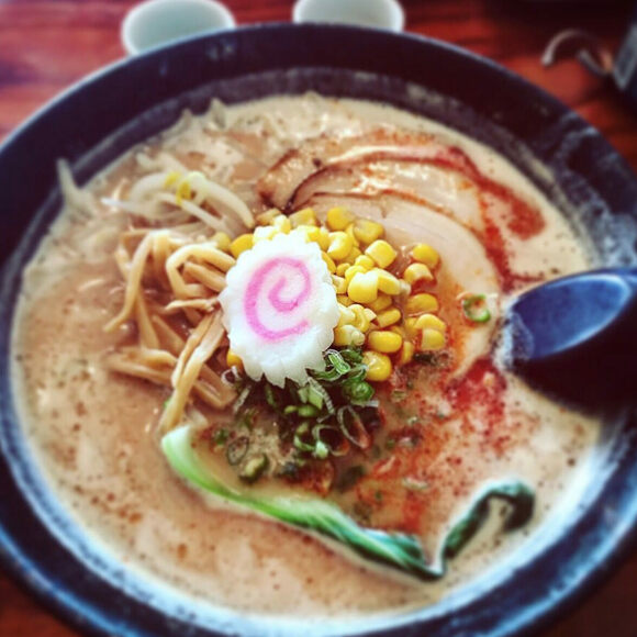 Narutomaki resembles a whirlpool.