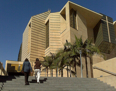 Exterior, Cathedral of Our Lady of the Angels