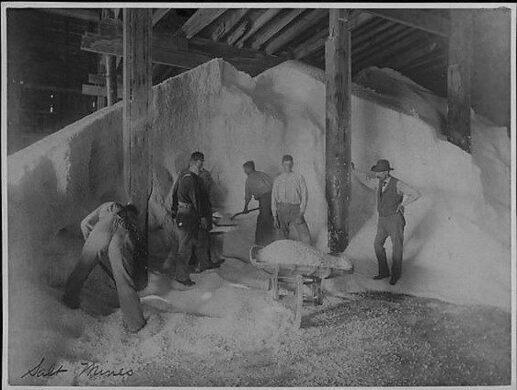 Salt mines,1893
