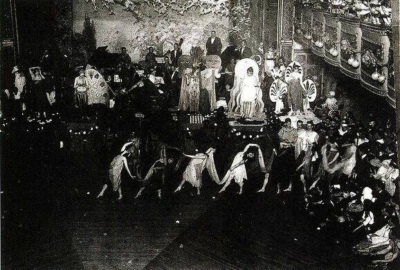Ball at Webster Hall, 1920