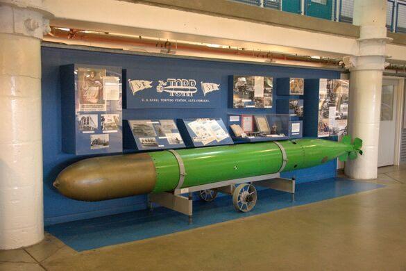 A leftover torpedo