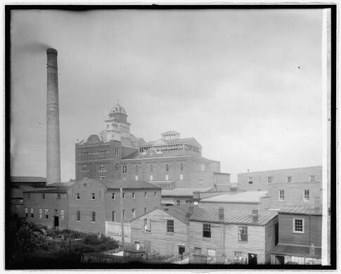 The National Capitol Brewery, opened in 1891 by Albert Carry.