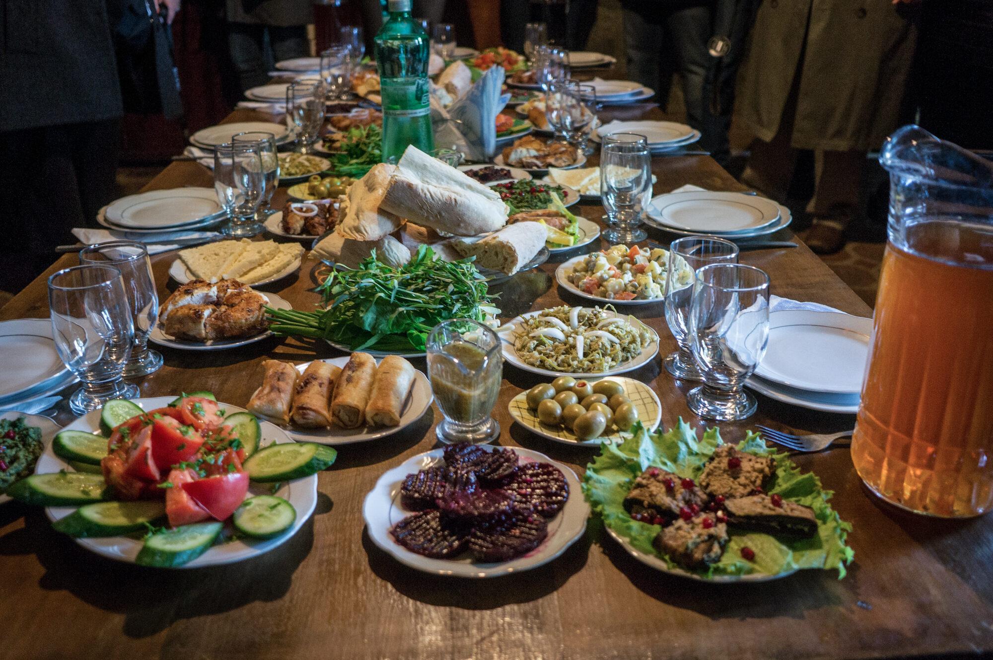 Vladikavkaz, grapes restaurant: oriental cuisine and warm atmosphere 42