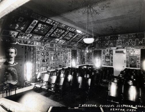 Egyptian Hall theatre - Kenton Ohio