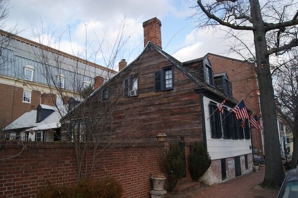 Murray-Dick-Fawcett House, one of the oldest extant structures in Northern Virginia.