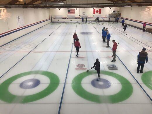 Curling lanes