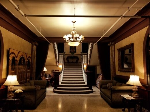Main staircase, Hotel Marqueen