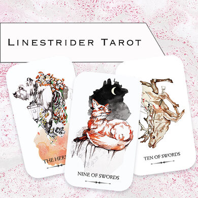 LInestrider deck designed by artist Siolo Thompson