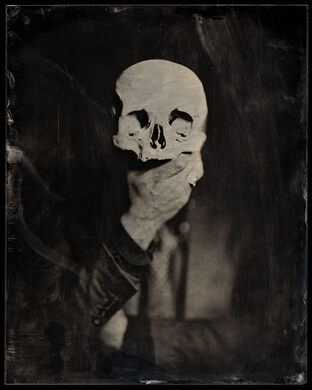 Ryan Cohn and Human Skull